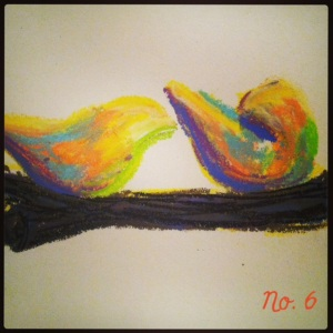 Number-6- art-30-days-birds
